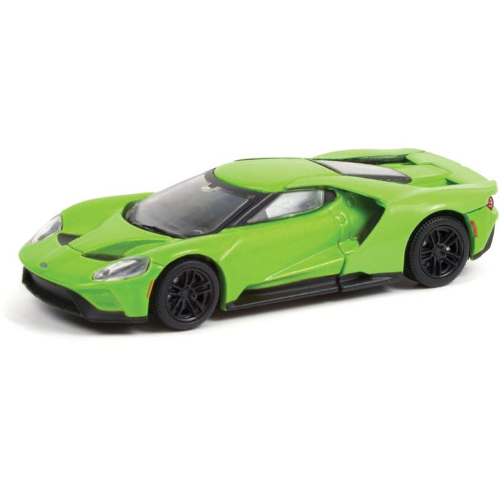2017 Ford GT (Lot #1417) - Barrett-Jackson Scottsdale 1:64 Scale Diecast Model by Greenlight Main Image