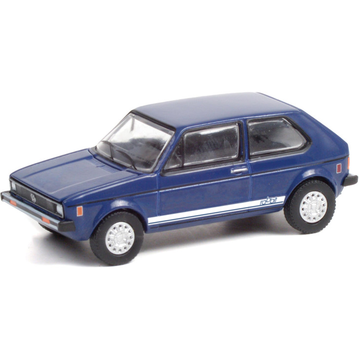 1979 Volkswagen Rabbit - Tarpon Blue 1:64 Scale Diecast Model by Greenlight Main Image