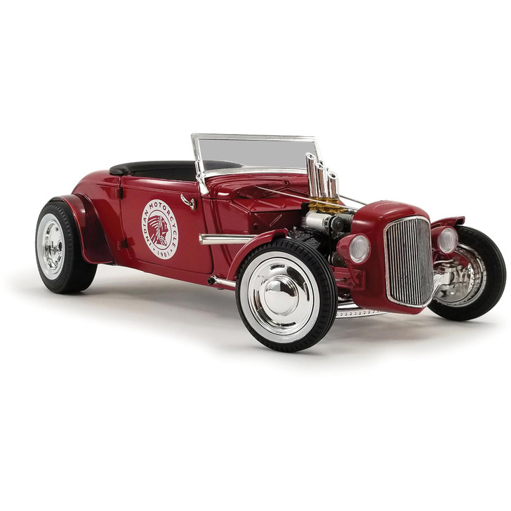 1934 Hot Rod Roadster - Indian Motorcycles Since 1901 1:18 Scale Diecast Model by GMP Main Image