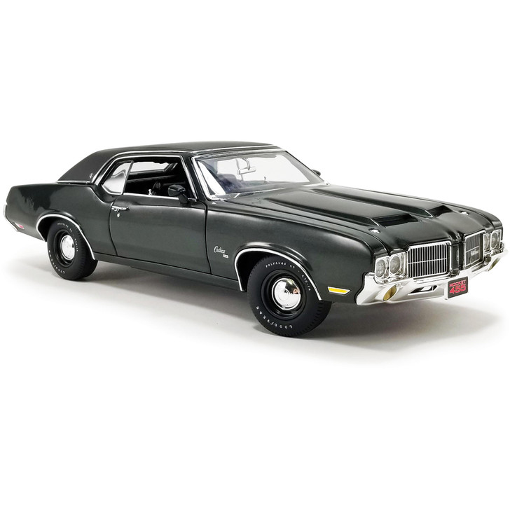 1971 Oldsmobile Cutlass SX - Antique Jade 1:18 Scale Diecast Model by Acme Main Image