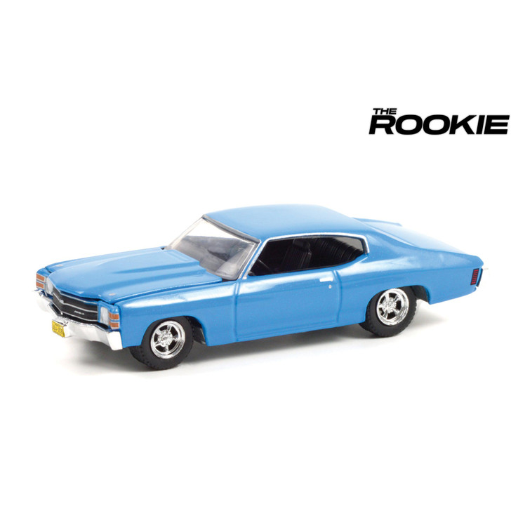 The Rookie 1971 Chevrolet Chevelle - Officer John Nolan 1:64 Scale Diecast Model by Greenlight Main Image