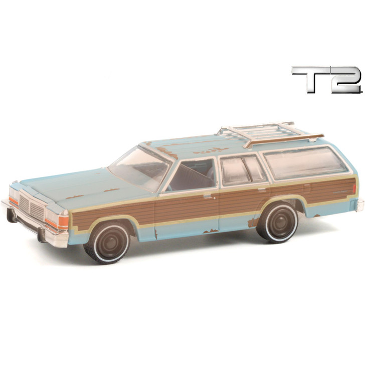 1979 Ford LTD Country Squire - Terminator 2 1:64 Scale Diecast Model by Greenlight Main Image