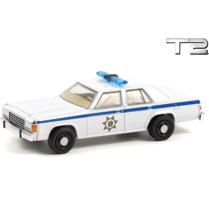 1983 Ford LTD Crown Victoria Police - Terminator 2 1:64 Scale Diecast Model by Greenlight Main Image