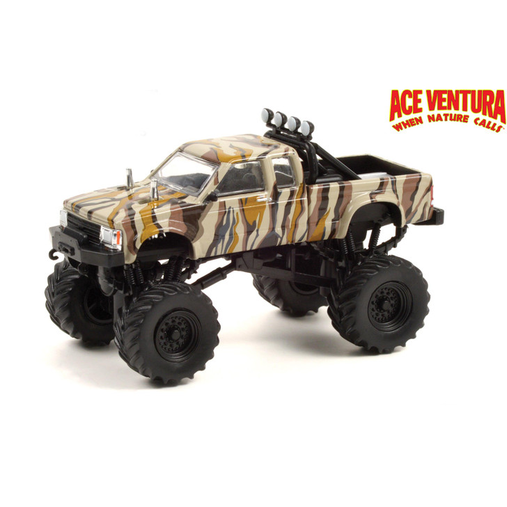 Ace Ventura 1989 Chevrolet S-10 Monster Truck 1:64 Scale Diecast Model by Greenlight Main Image