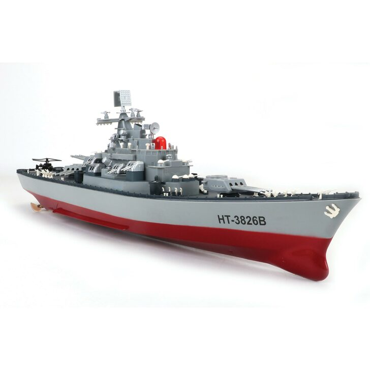 Remote Control Battleship 1:250 Scale Diecast Model by CIS Associates Main Image