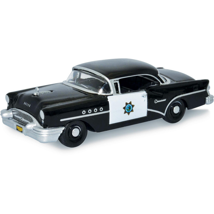 1955 Buick Century - California Highway Patrol 1:87 Scale Diecast Model by Oxford Diecast Main Image