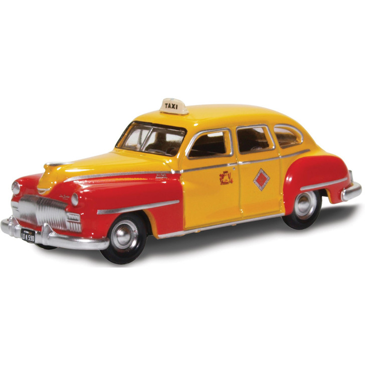 1946-48 DeSoto Suburban - San Francisco Taxi - The Godfather 1:87 Scale Diecast Model by Oxford Diecast Main Image