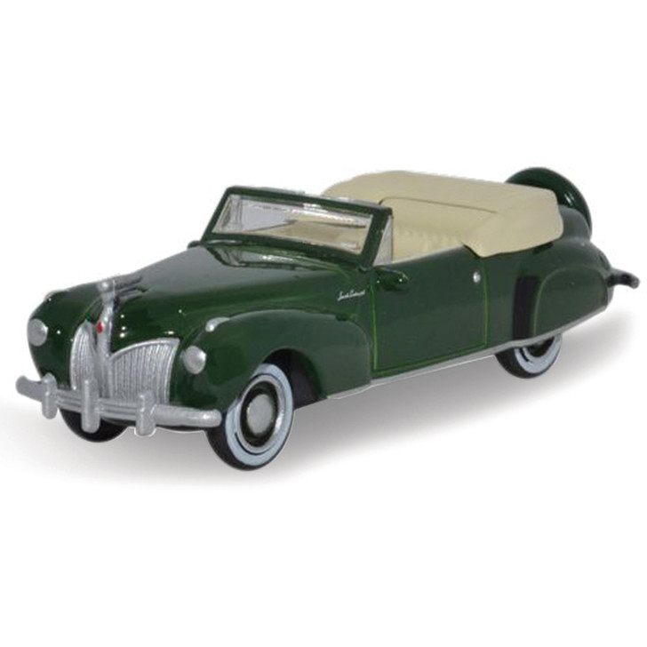 1941 Lincoln Continental - Spode Green 1:87 Scale Diecast Model by Oxford Diecast Main Image