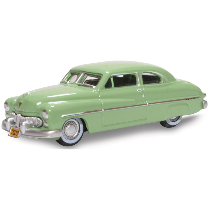 1949 Mercury 8 Coupe - Calcutta Green 1:87 Scale Diecast Model by Oxford Diecast Main Image