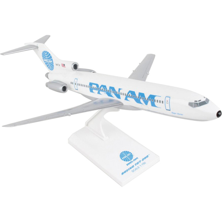 Pan Am Boeing 727 Clipper Charmer 1:150 Scale Diecast Model by SkyMarks Main Image