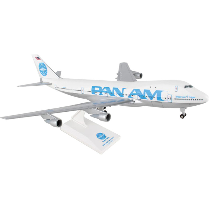 Pan Am Boeing 747-100 with Gear 1:200 Scale Diecast Model by SkyMarks Main Image