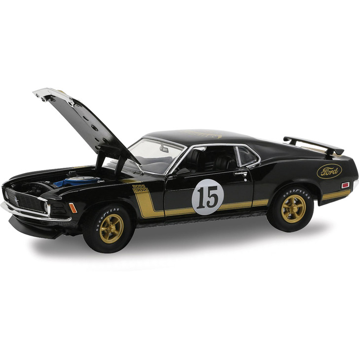 1970 Boss 302 Ford Mustang 1:24 Scale Main Image