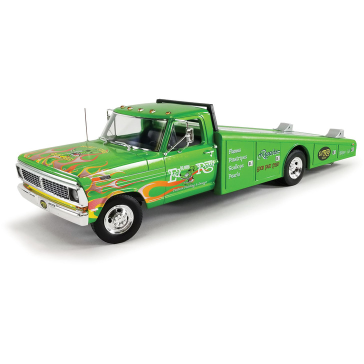 1970 Rat Fink Ford F-350 Ramp Truck 1:18 Scale Main Image