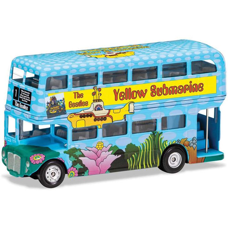 The Beatles London Bus - Yellow Submarine 1:64 Scale Main Image