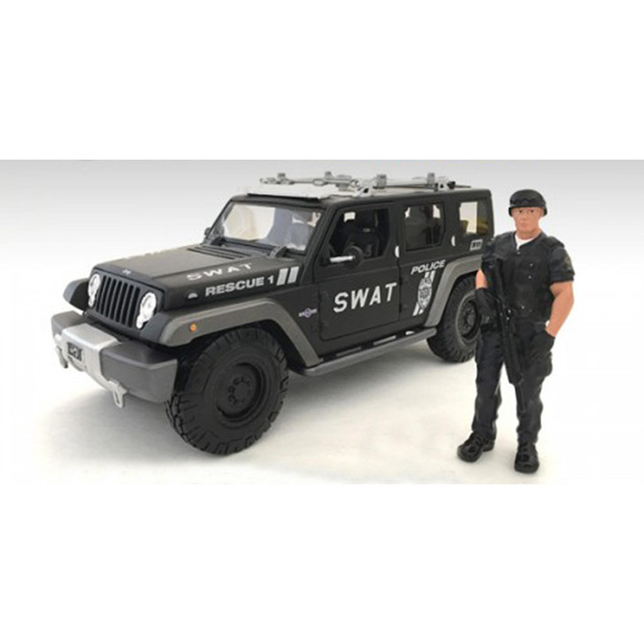 1:24 SWAT Team - Chief 1:24 Scale Main Image