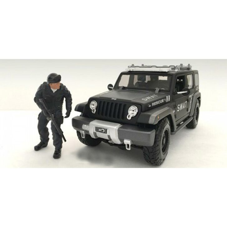 1:24 SWAT Team - Rifleman 1:24 Scale Main Image