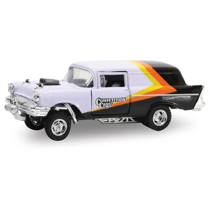 1957 Chevrolet Sedan Delivery Gasser - Competition Cams 1:64 Scale Main Image