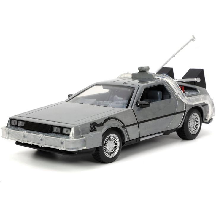 Back to the Future Part 1 DeLorean Time Machine 1:24 Scale Main Image