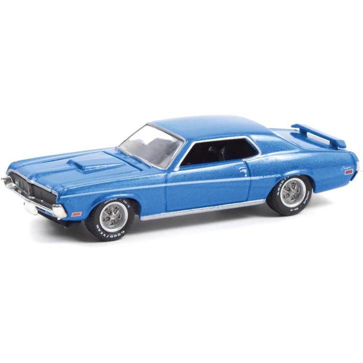 1969 Mercury Cougar Eliminator - Medium Blue Iridescent 1:64 Scale Main Image