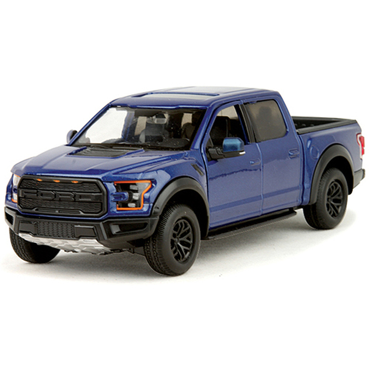 2017 Ford F-150 Raptor SuperCrew - blue Main Image