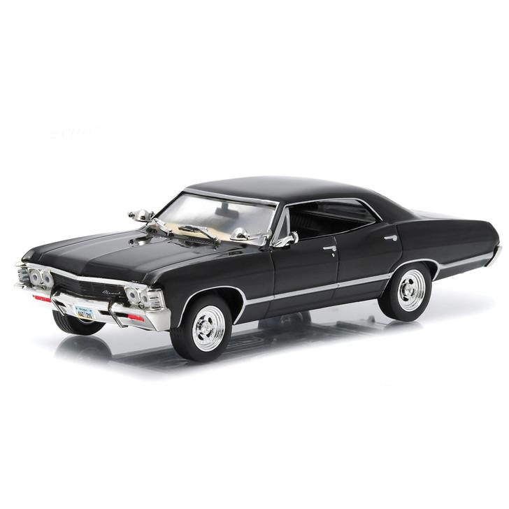 1967 Chevrolet Impala Sport Sedan - Tuxedo Black 1:43 Scale Main Image