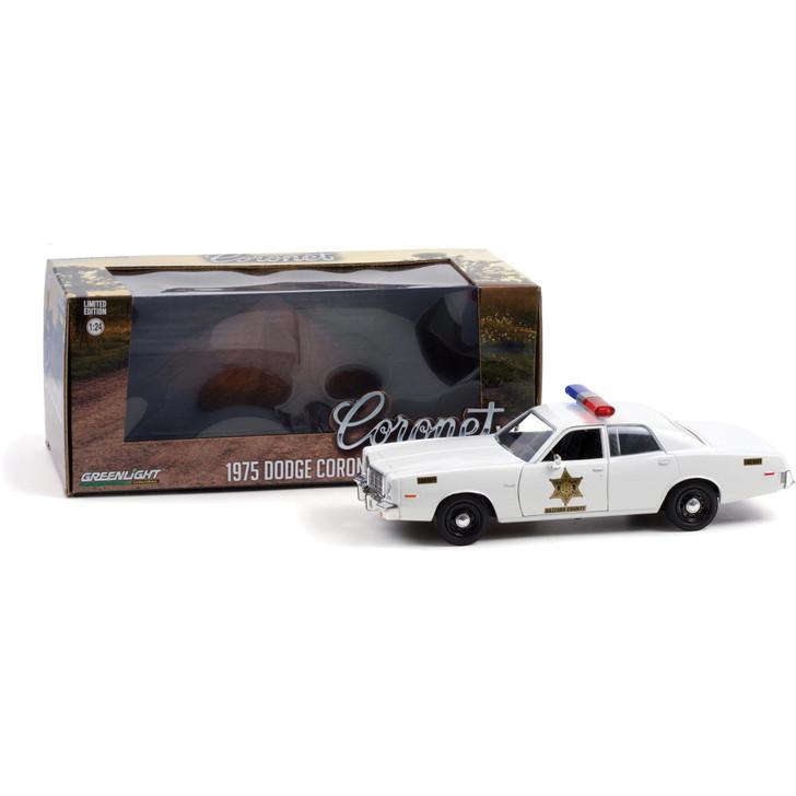 1975 Dodge Coronet - Hazzard County Sheriff 1:24 Scale Main Image