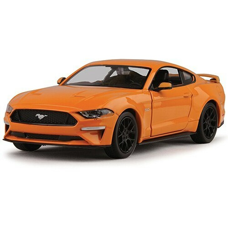 Motormax 2018 Ford Mustang GT - Orange 124 Scale Diecast Model by Motormax 18173NX 661732935222