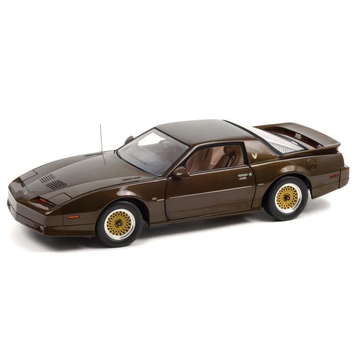 1987 Pontiac Trans Am Gran Turismo Americano (GTA) - Midnight Russet Metallic 1:18 Scale Main Image