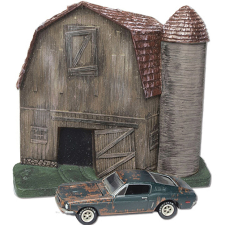 Johnny Lightning Barn Find 1968 Ford Mustang 164 Scale Diecast Model by Johnny Lightning 19213NX