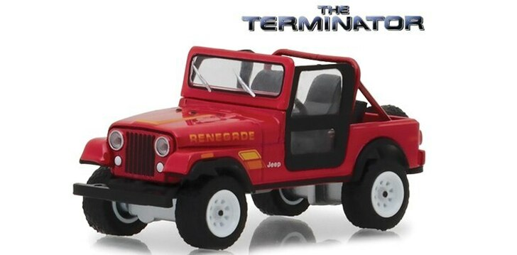 Greenlight The Terminator Sarah Connors 1983 Jeep CJ-7 Renegade 164 Scale Diecast Model by Greenlight 18271NX