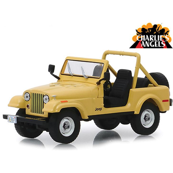 Greenlight Charlies Angels Jeep CJ-5 143 Scale Diecast Model by Greenlight 19538NX
