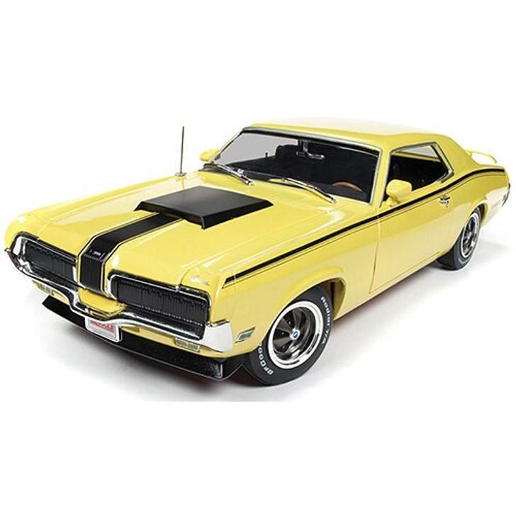 American Muscle - Ertl 1970 Mercury Cougar Eliminator -Hemmings Cover Car 118 Scale Diecast Model by American Muscle - Ertl 18582NX