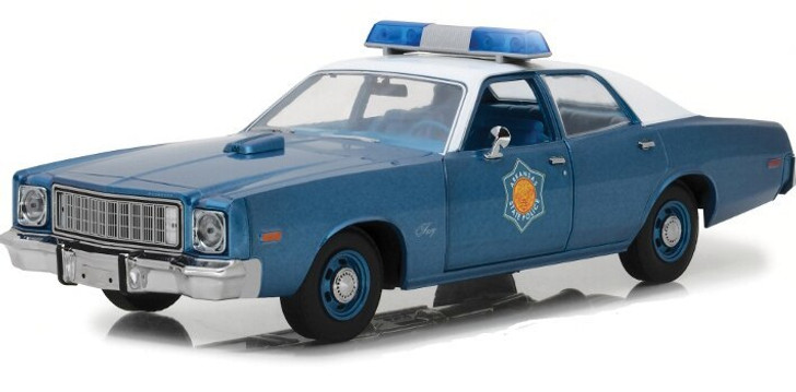 Greenlight Smokey and the Bandit 1975 Plymouth Fury Arkansas Police 118 Scale Diecast Model by Greenlight 17862NX