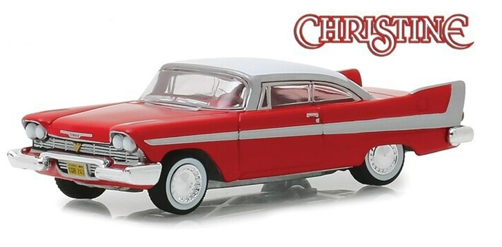 Greenlight Christine 1958 Plymouth Fury 164 Scale Diecast Model by Greenlight 19470NX