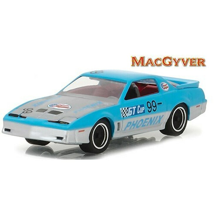 Greenlight MacGyver 1987 Pontiac Firebird 164 Scale Diecast Model by Greenlight 17448NX