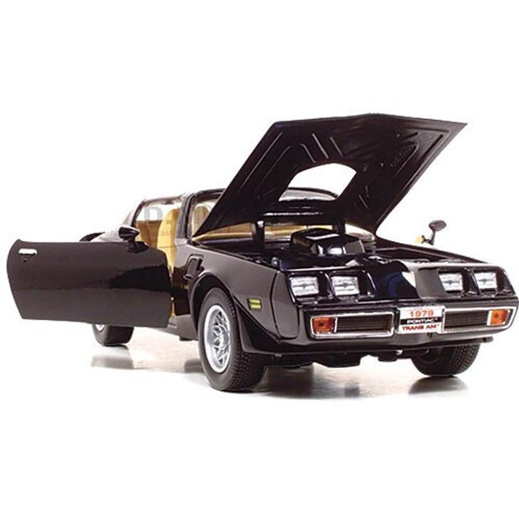 Road Signature 1979 Pontiac Trans Am - Black 118 Scale Diecast Model by Road Signature 14856NX 888693237817