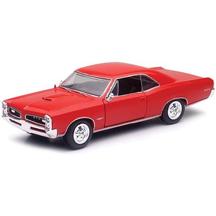 New-Ray Toys 1966 Pontiac GTO 125 Scale Diecast Model by New-Ray Toys 15814NX