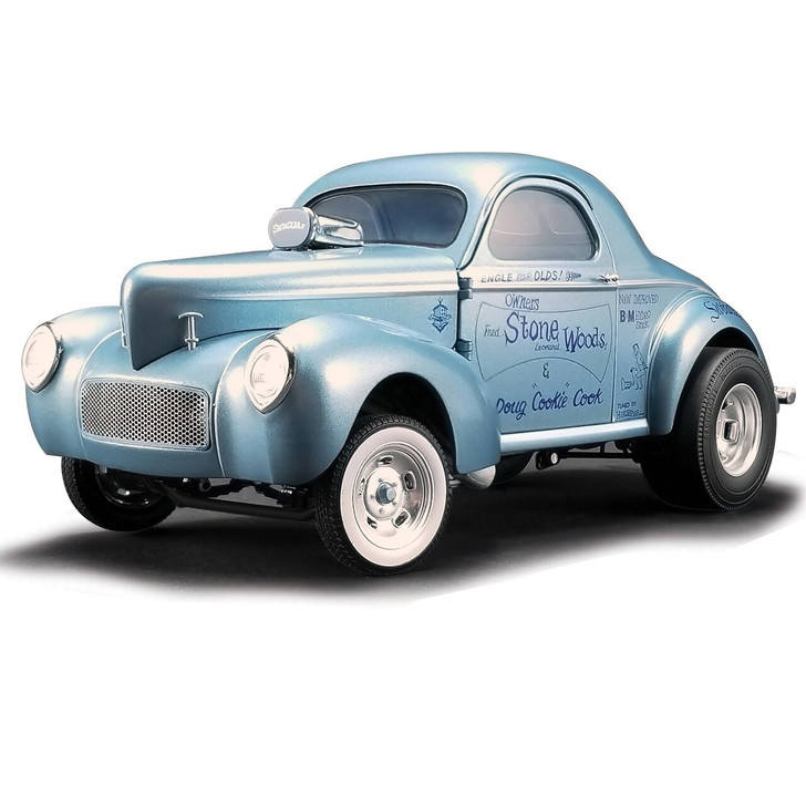 Acme 1941 Stone, Woods and Cook Willys Gasser - Swindler II 118 Scale Diecast Model by Acme 19495NX