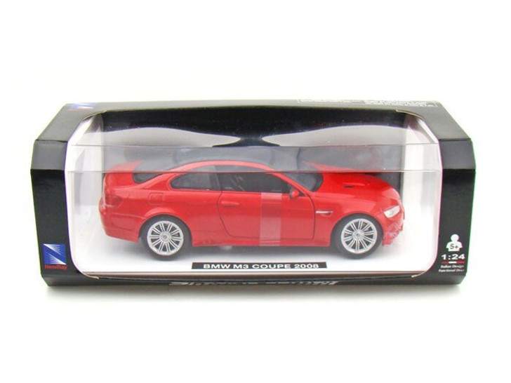 New-Ray Toys New Ray 2008 BMW M3 Coupe 1/24 Red 124 Scale Diecast Model by New-Ray Toys NR71056-RD