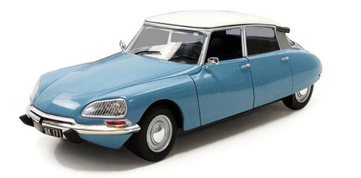 Solido 1972 Citroen D Special - Blue 118 Scale Diecast Model by Solido 18950NX