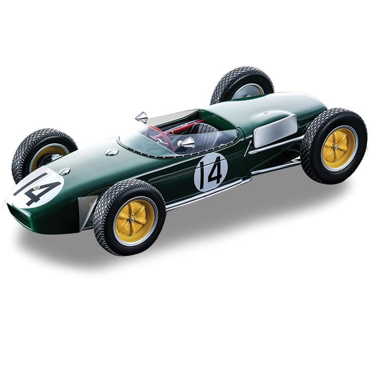 Tecnomodel 1960 Lotus 18 Grand Prix Car - Jim Clark #14 118 Scale Diecast Model by Tecnomodel 19906NX