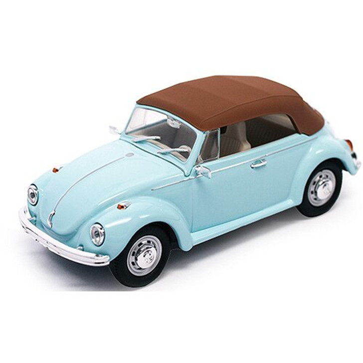 Road Signature 1972 Volkswagen Super Beetle Closed Convertible 143 Scale Diecast Model by Road Signature 18117NX 888693062129