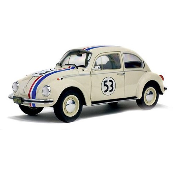 Solido Herbie the Love Bug 118 Scale Diecast Model by Solido 18955NX 3663506000492