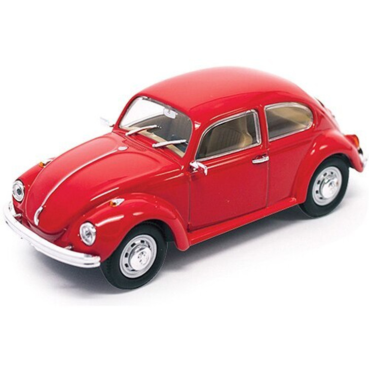 Road Signature 1972 Volkswagen Super Beetle - red 143 Scale Diecast Model by Road Signature 18115NX 888693061917