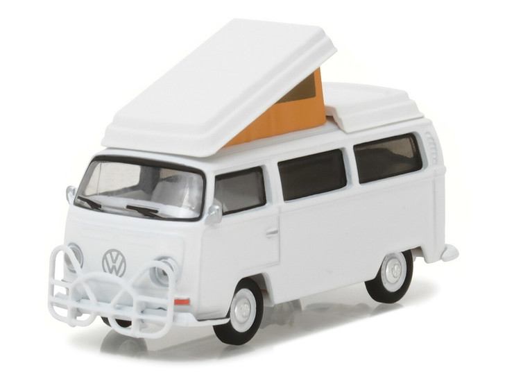 Greenlight 164 Club Vee-Dub Series 5 - 1968 Volkswagen Type 2 Campmobile with Hurst Bumper Solid Pack 164 Scale Diecast Model by Greenlight GL29870-B