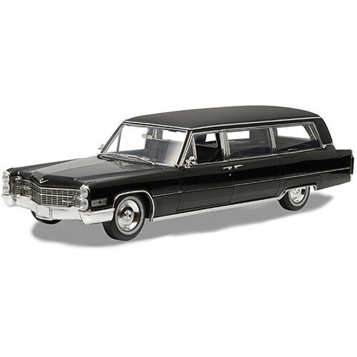 Greenlight 1966 Cadillac SandS Funeral Coach 118 Scale Diecast Model by Greenlight 16073NX 812982022822