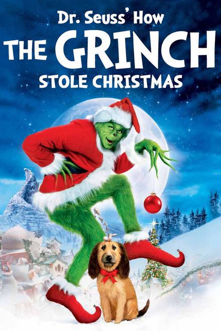 Dr. Seuss' How The Grinch Stole Christmas [Movies Anywhere HD, Vudu HD or iTunes HD via Movies Anywhere]