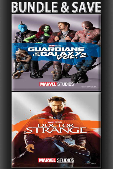 Guardians Of The Galaxy Vol. 2 + Doctor Strange [Movies Anywhere HD, Vudu HD or iTunes HD via Movies Anywhere]