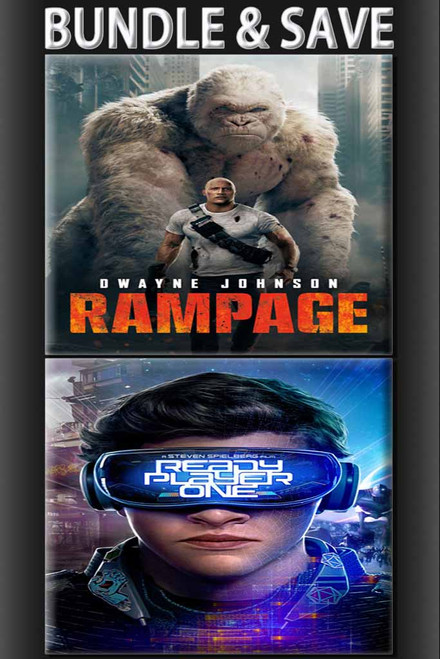 Ready Player One + Rampage BUNDLE [Movies Anywhere HD, Vudu HD or iTunes HD via Movies Anywhere]
