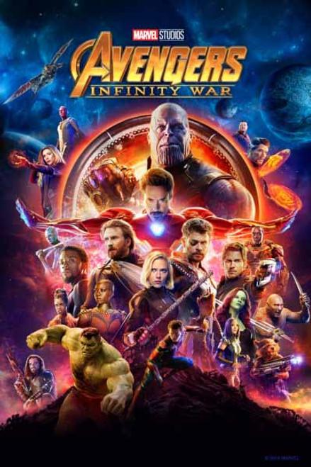 Avengers Infinity War [Vudu 4K or iTunes HD via Movies Anywhere]